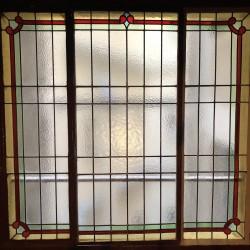 Restauration fenêtre cage d'escalier