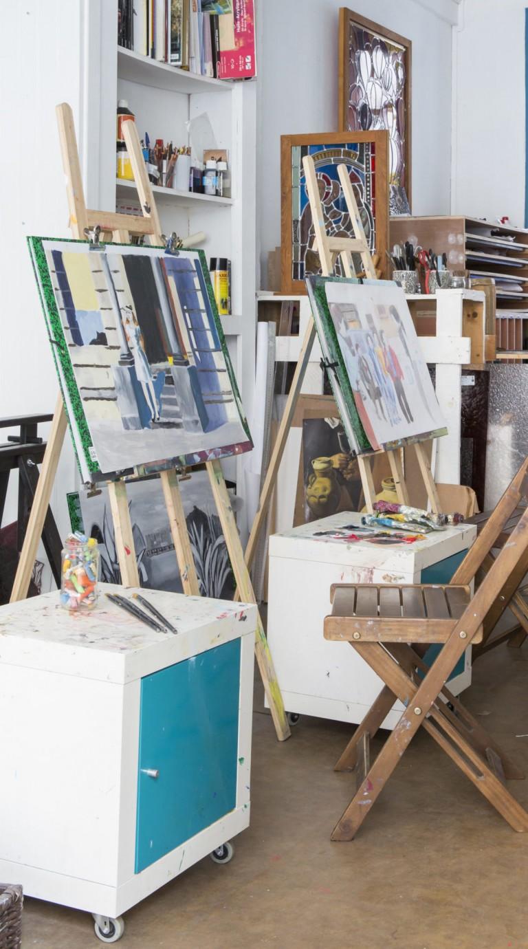 Atelier Dablanc vue intérieur